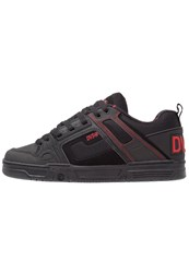 Dvs Shoe Company Comanche Skater Shoes Black Red