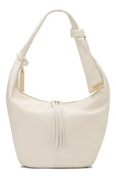 Vince Camuto Imena Leather Hobo White Snow White
