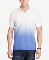 Polo Ralph Lauren Men's Big And Tall Ombre Classic Fit Mesh Black