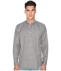 Marc Jacobs Regular Fit Micro Stripe Button Up Night Combo Men's Clothing Gray