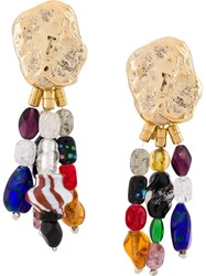 Ambush Nobo Bead Short Earring 60