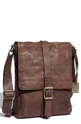 Frye 'Logan Daily' Messenger Bag Dark Brown