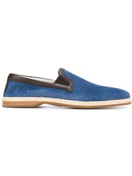 Dolce And Gabbana Slip On Espadrilles Blue
