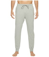 Polo Ralph Lauren Relaxed Fit Jersey Jogger Cuff Sleep Pants Andover Heather Rugby Royal Player Men's Pajama Green