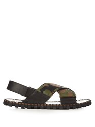 Valentino Crossover Camouflage Sandals