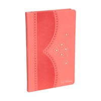 Ted Baker Coral Brogue Notebook Medium