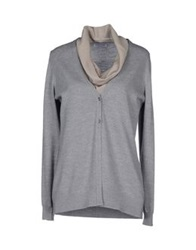 Gran Sasso Cardigans Light Grey