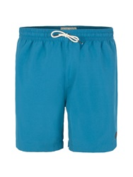 Racing Green Baildon Plain Swim Shorts Blue