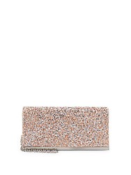 La Regale Beaded Flap Clutch Gunmetal