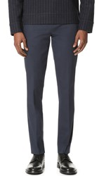 Paul Smith Mid Fit Suit Trousers Navy