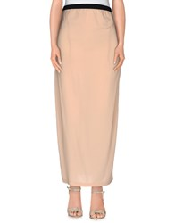 Jucca Skirts Long Skirts Women Skin Color