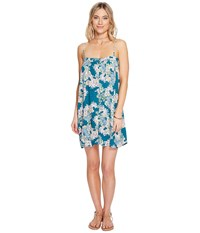 O'neill Brice Dress Shaded Spruce Women's Dress Blue