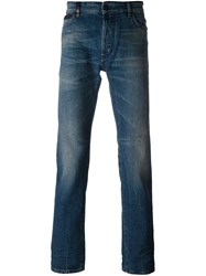 Marcelo Burlon County Of Milan Slim Fit Jeans Blue