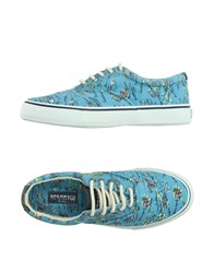 Sperry Top Sider Footwear Low Tops And Trainers Men Azure