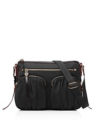 M Z Wallace Mz Wallace Paige Crossbody Black Gold