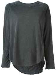 Nsf Long Sleeve T Shirt Grey