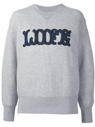 Sacai Liife Sweatshirt Grey