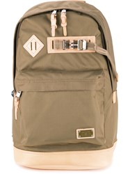 As2ov Large Backpack Men Nylon One Size Brown