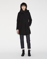 Woolrich Long Military Eskimo Black