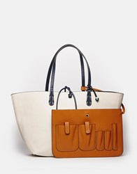 Fiorelli Savannah Nautical Tote With Detachable Organiser Multi