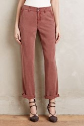 Anthropologie Pilcro Hyphen Roll Up Trousers Cedar 28 Pants
