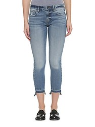 Vigoss Skinny Chelsea Cropped Jeans Medium Wash