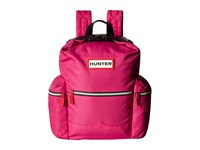 Hunter Original Mini Top Clip Nylon Backpack Bright Pink Backpack Bags