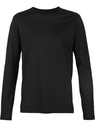 Transit Longsleeved T Shirt Black