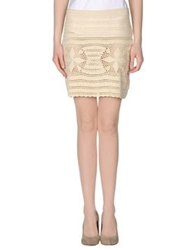 Gianfranco Ferre Gf Ferre' Mini Skirts Ivory
