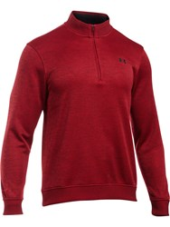 Under Armour Men's Storm Sweater Fleece Red
