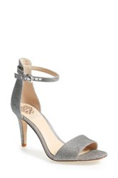 Vince Camuto Court Ankle Strap Pump Metallic