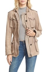 Free People Women's 'Not Your Brother's' Utility Jacket Rose
