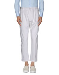 Dandg Trousers Casual Trousers Men White