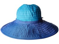 San Diego Hat Company Rbl299os Ribbon Bow Floppy Blue Combo Caps Multi
