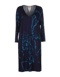 Alviero Martini 1A Classe Short Dresses Dark Blue