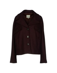 Opening Ceremony Coats Deep Purple