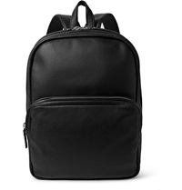 Marc By Marc Jacobs Full Grain Leather Backpack Black