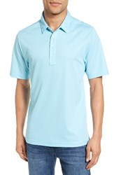 Travis Mathew Men's The Ten Year Polo Heather Antigua