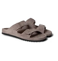 Officine Creative Agora Suede Sandals Gray