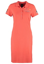 Gaastra Cina Summer Dress Hot Coral