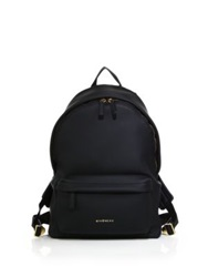 Givenchy Small Faux Leather Backpack Black