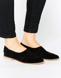 Park Lane Baboushe Shoe Black Suede