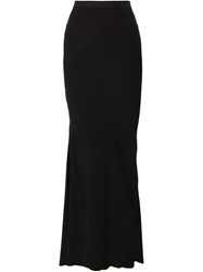 Rick Owens Mermaid Maxi Skirt Black