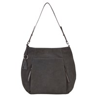 Mint Velvet Libby Leather Tote Bag Charcoal