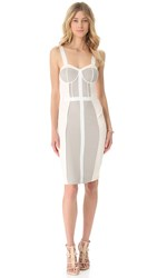 Rebecca Minkoff Pastel Clara Dress Clay Combo