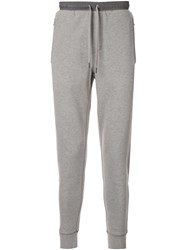 Kent And Curwen Straight Leg Track Trousers Grey