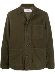 Closed Worker Corduroy Jacket Green