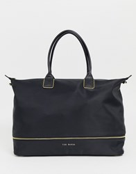 Ted Baker Emiia Extendable Zip Weekend Bag Black