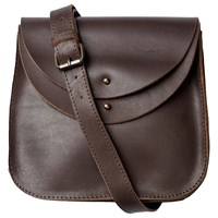 Fat Face Danni Leather Across Body Bag Brown