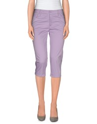 Mcq By Alexander Mcqueen Mcq Alexander Mcqueen Trousers 3 4 Length Trousers Women Lilac